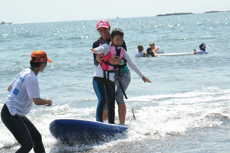 知的障がい児・発達障がい児のためのサーフィンスクール