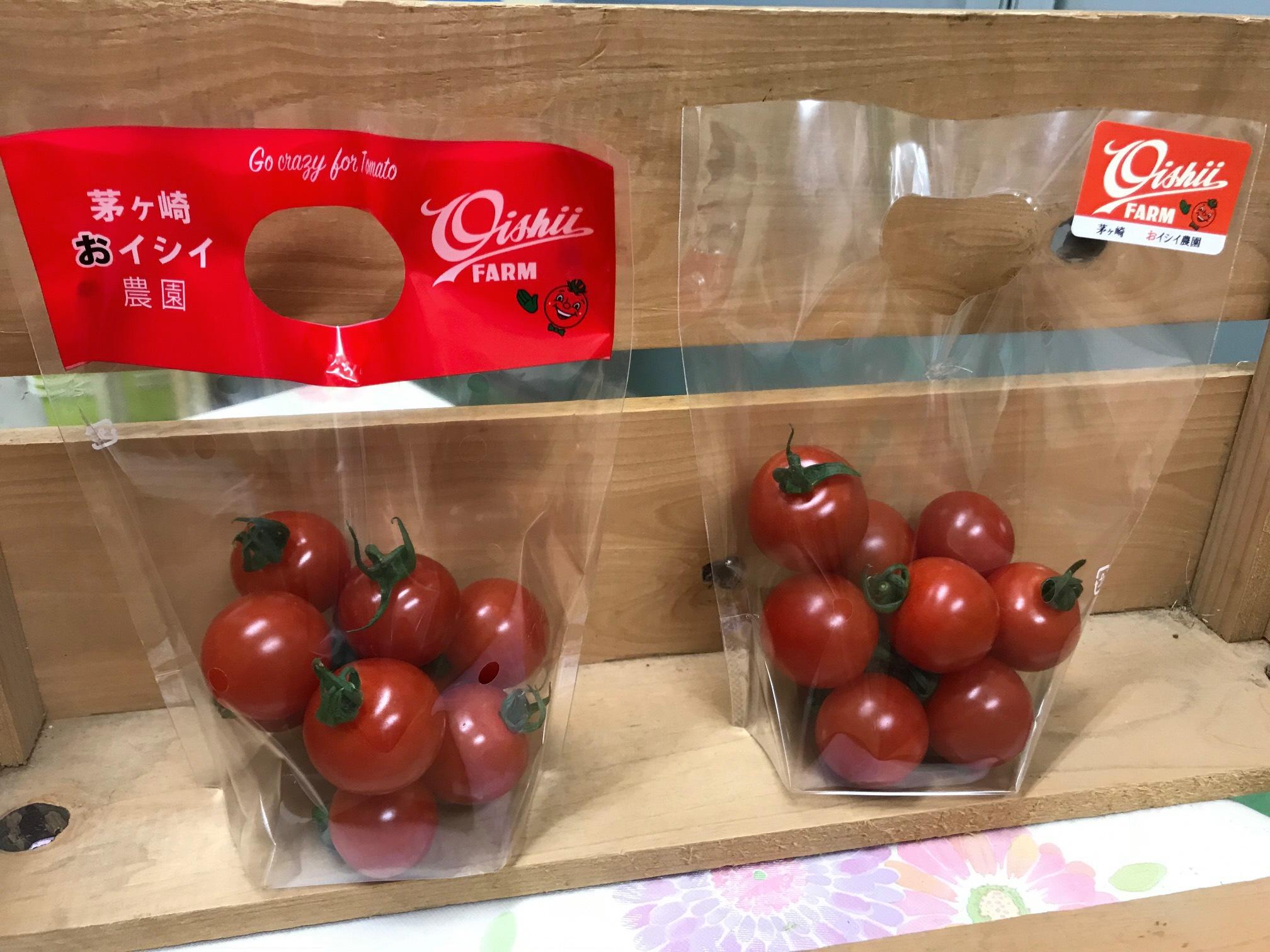 おイシイ農園のミニトマト