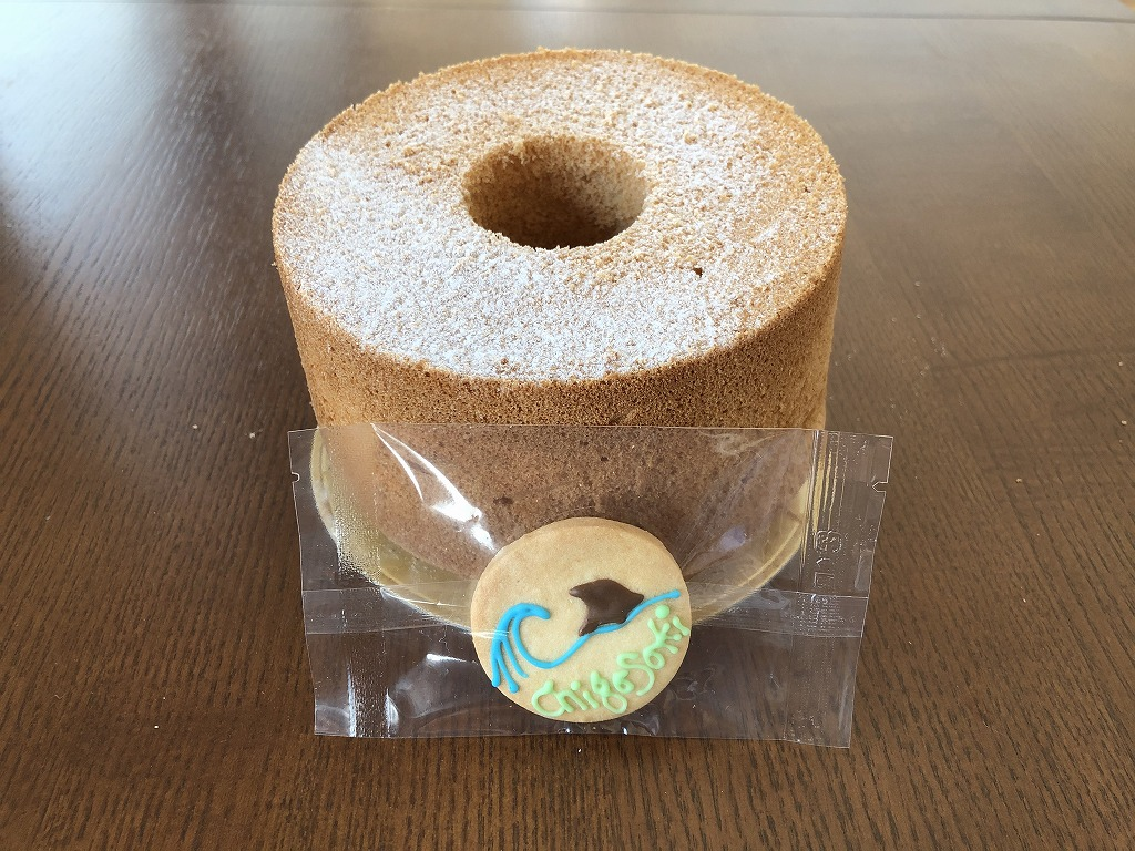 14cmホールシフォン アイシングクッキーつき(オリジナルプレーン)